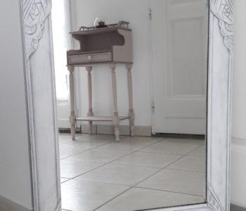 Miroir Coton patine Alu