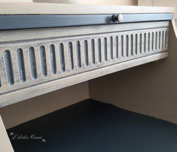 Détail du tiroir meuble Chippy