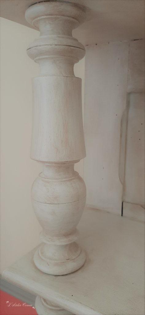 Détail patine angora